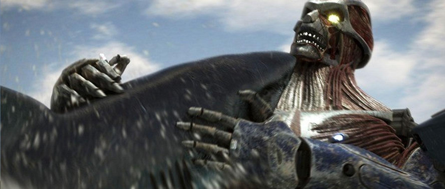 Mega Tiburón contra Kolossus