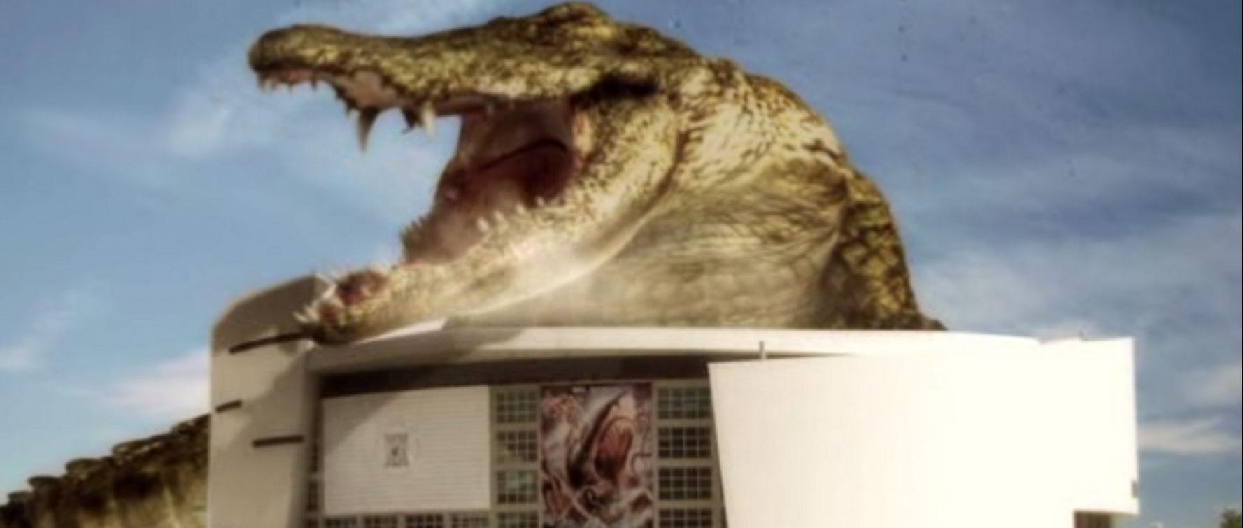 Mega Tiburón contra Crocosaurio
